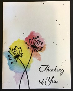 Floral Thinking of You <br>(NOTECARD 6-PACK)
