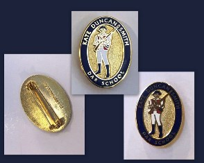 KDS Oval Patriots Lapel Pin