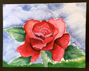 Rose<br> (NOTECARD 6-PACK)