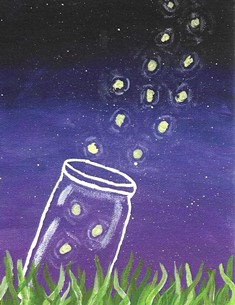 Fireflies (NOTECARD 6-PACK)